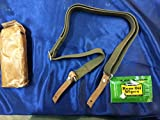 ESKS Chinese Military Issue SKS Ak47 Style Heavy Duty Canvas/Leather Rifle Sling W/Free rem Oil Wipe