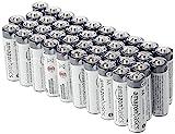 Amazon Basics - Pilas alcalinas AA de uso industrial (40 unidades)