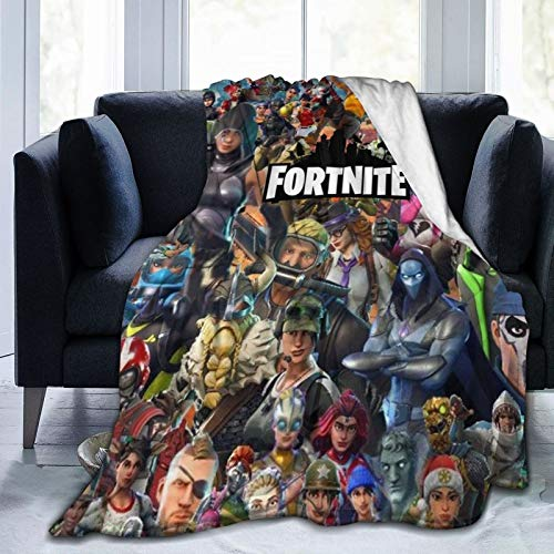 Hongfeimaoyi Fo_Tnite Ba_Ttle Ro_Yale Ultraweiche Micro-Fleece-Decke für Couch oder Bett, warme Überwurfdecke für Erwachsene oder Kinder
