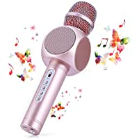 Fede 3-in-1 Portable Bluetooth Karaoke Microphone System