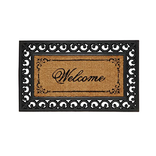 "Clayre & Eef MC031 Zerbino ""Welcome"", ca.  75 x 45 cm"