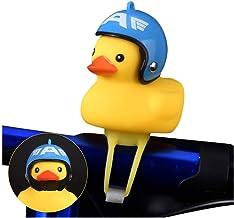 Zooarts Timbre Bicicletas, Timbre de Bicicleta de Pato, Duck Bicycle Bell, Mini Duck Head Bike Ring, Timbre para Bicicleta Diseño en Pato - Bike Bell Duck Bicycle Horn Light Bell