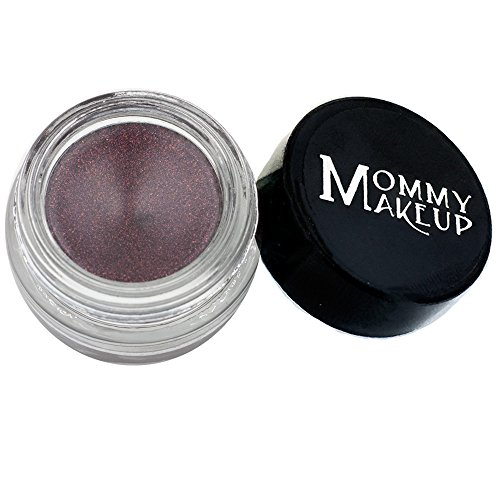 Mommy Makeup Waterproof Stay Put Gel Eyeliner with Semi-Permanent Micropigments - smudge-proof, long wearing, paraben-free - Black Orchid (Luscious metallic black burgundy)