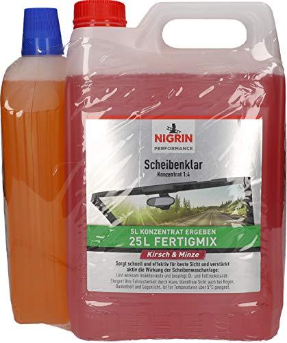 Nigrin 99081 Scheibenklar Kirsch/Minze+Allwetter5L+1L