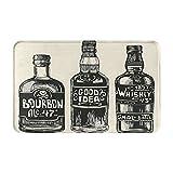 Estera de la puerta delantera,Whisky Tres Botellas Fuerte Propuesta Alcohol Comida Be,Alfombras para puertas de entrada y de interior con respaldo antideslizante,alfombra de baño absorbente suave