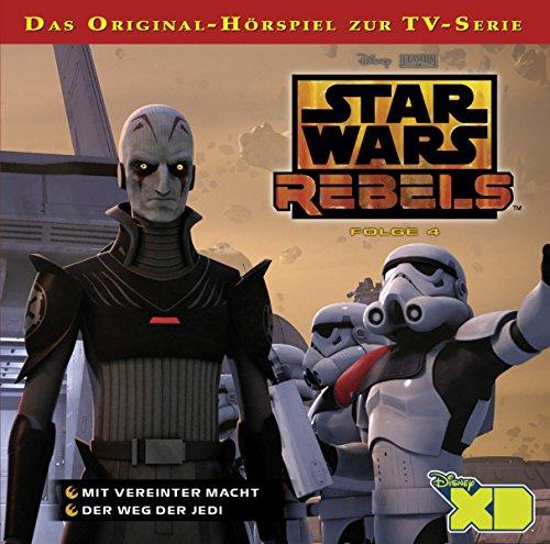 Mit vereinter Macht / Der Weg der Jedi (Star Wars Rebels 4) Titelbild