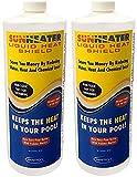 SmartPool SunHeater Solar Blanket Liquid HeatShield SHS32 Solar Blanket in a Bottle (Pack of 2)