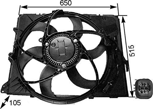 Mahle CFF 264 000S Ventilador de Condensador y refrigerador