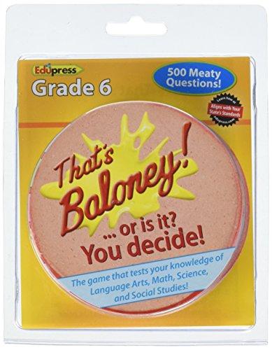 Edupress That's Baloney! Game, Grade 6 (EP63484)
