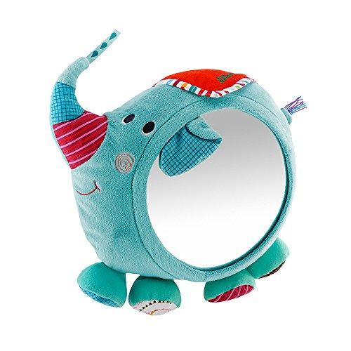 Lilliputiens 86566 - Albert Spiegel Elefant  Kollektion Zirkus, blau