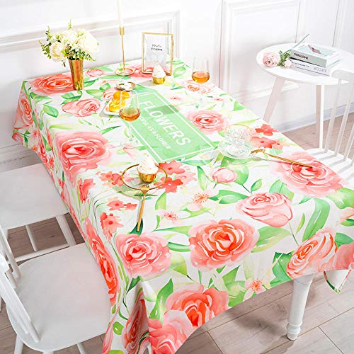 LIUJUAN Nappe Table Toile Cirée Ronde Coton Et Lin Table Basse Ménage Rectangulaire Table Nappe TV Comptoir Tissu-Jardin Secret_85 * 85Cm Épaissi