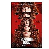 feitao Muñeca Rusa Natasha Lyonne TV Series Poster Art Print Canvas Decoración de la Pared Canvas Wa...