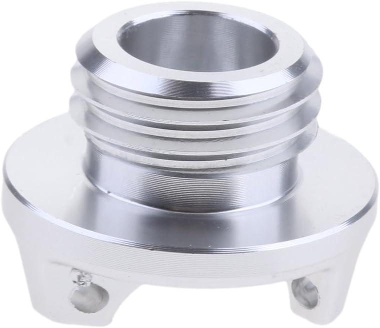 CNC Schraube /Öleinf/üllschraube /Öleinf/üllstutzen Kappe f/ür Kawasaki Z900 Z800 Z1000 Silber