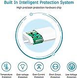 Everdigi Cargador Enchufe Adaptador USB Cable de Carga para Phone Blanco Tres Pies 5W