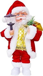 LUCKSTAR Electric Santa Claus- Creative Music Doll Singing Dancing Xmas Santa Claus Toy Ornaments Christmas Decorations (Color-2)