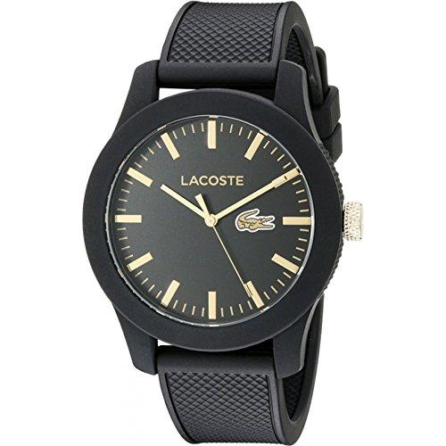 Lacoste 2010818 - Reloj analógico de pulsera para hombre, correa de s