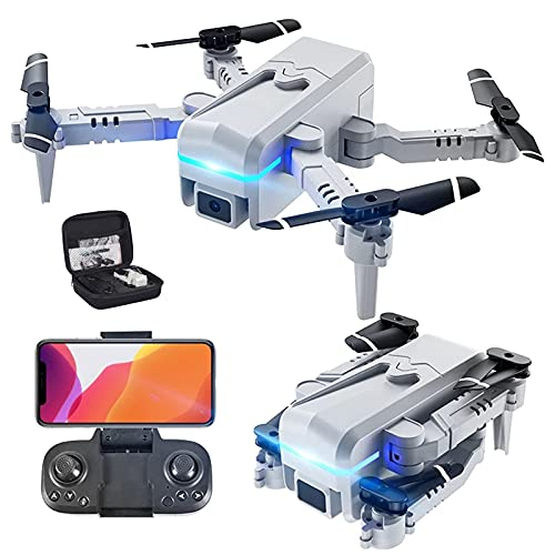 JJDSN Drone con Doppia Fotocamera 4k HD, Giocattoli con Telecomando, Regali per Ragazze, Mantenimento dell'altitudine, modalità Senza Testa, Regolazione della velocità di Avvio con Un Tasto, capov