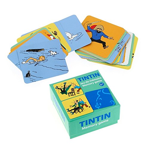 Playing cards Memory Game The Adventures of Tintin V1 51069 (2016)