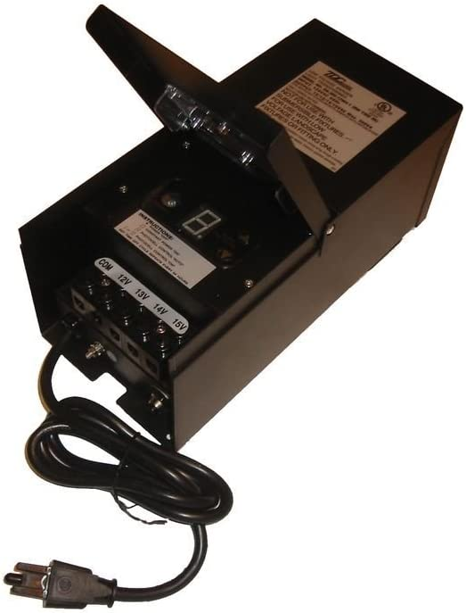 600W discount 2021 TRANSFORMER W BUILT-IN METAL TIMER BLACK PHOTOCELL