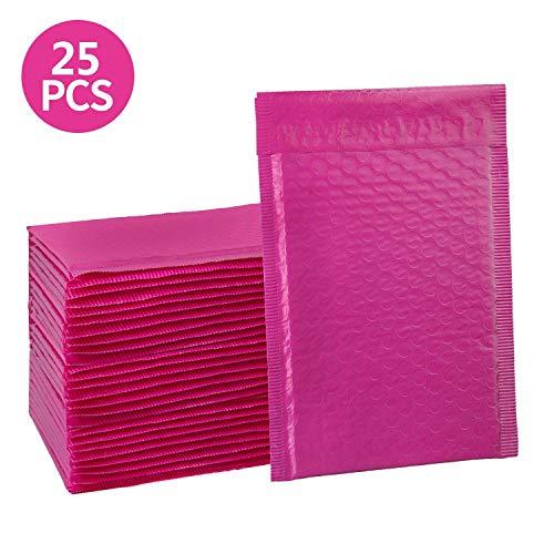 "25 #000 4x8 Hardshell Poly Bubble Mailers Self Seal TUFF BUBBLE 4/"" x 8/"""