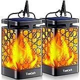 TomCare - Farol solar con luces LED para...