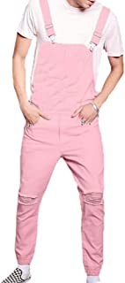Babao Men's Jeans Camouflage Denim Jumpsuits Denim Overalls