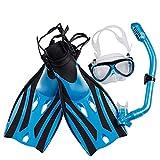 RatenKont Máscara Buceo submarina Snorkel Gafas antiniebla Gafas...