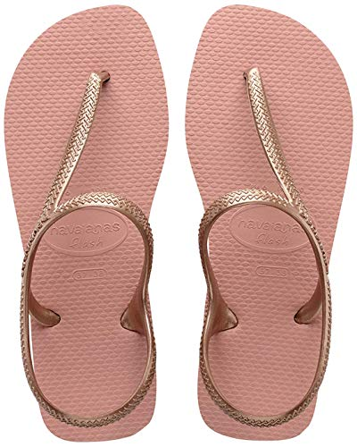 Havaianas Flash Urban, Sandali Donna, Oro (Rose Nude 7939), 37/38 EU