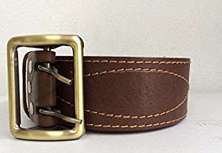 Original New Officer Leather Belt Brown Russian Military Army Forces
