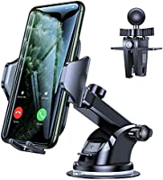VICSEED Car Phone Mount, [Thick Case & Big Phones Friendly] Long Arm Suction Cup Phone Holder for Car Dashboard...