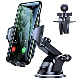 VICSEED Car Phone Mount, [Thick Case & Big Phones Friendly] Long Arm Suction Cup...