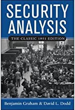 [(Security Analysis: Classic 1951 Edition: Principles and Technique )] [Author: Benjamin Graham] [Jan-2005]