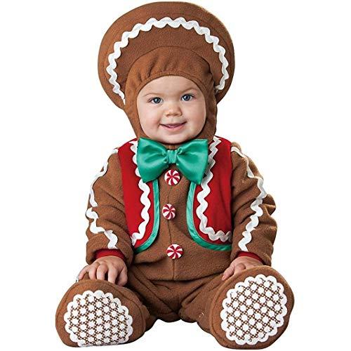 In Character Costumes Disfraz de Galleta de Jengibre pará bebé