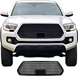 Custom Car Grills CCG Grille for 2018 2019 2020 Toyota Tacoma with TSS Sensor Bracket & Black Bezel