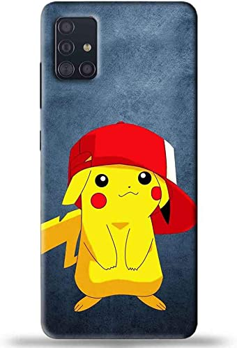 NDCOM Cute Cartoon Printed Hard Mobile Phone Back Cover Case For Samsung Galaxy M51