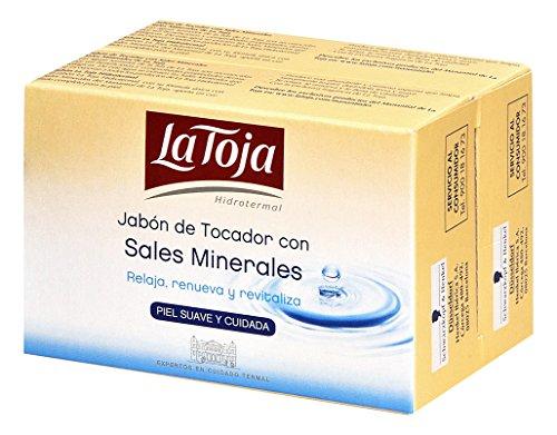 La Toja Jabón de Manos Hidrotermal - Relaja, renueva y revitaliza con la fragancia exclusiva de La Toja - 1 pack de 2 pastillasx125gr