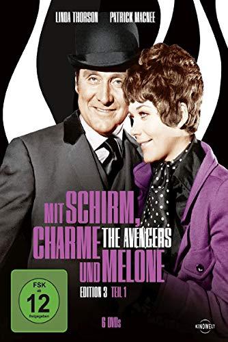 Mit Schirm, Charme und Melone - Edition 3, Teil 1 [6 DVDs]