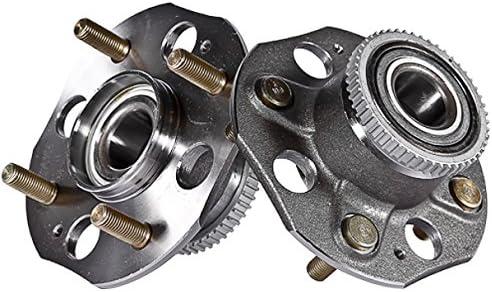 Callahan 512178X2 2 5% OFF Pair REAR Premium AB 4 Popular overseas 4-Wheel Lug Grade