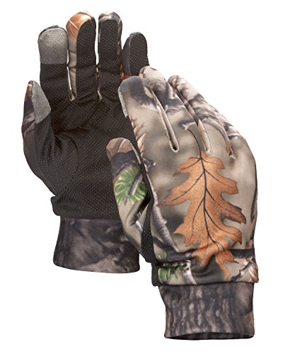 North Mountain Gear Lightweight Touchscreen Camouflage Hunting Gloves (Brown)
