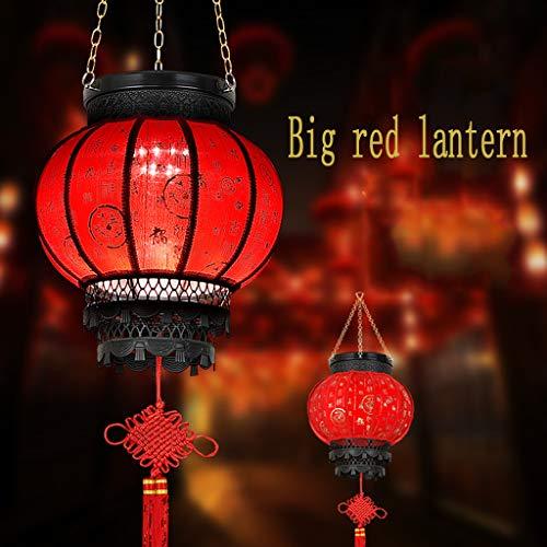 Binnenplaats Gazon Lamp Chinese Lantaarns Zonne LED Vakantie Decoratie 43 * 31cm Regendicht en Duurzaam