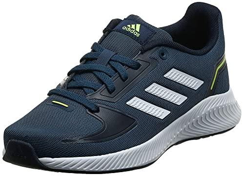adidas Runfalcon 2.0, Road Running Shoe, Crew Navy/Cloud White/Legend Ink, 36 EU
