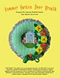 Summer Garden Door Wreath: Plastic Canvas Pattern