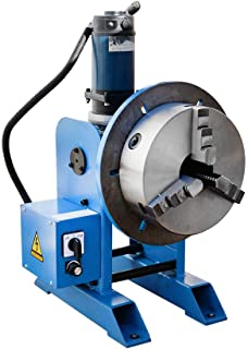 "10"" Chuck + 265-770 LBS Welding Positioner Positioning Rotary Turn Table Tilt 0-135 Welder 110V"