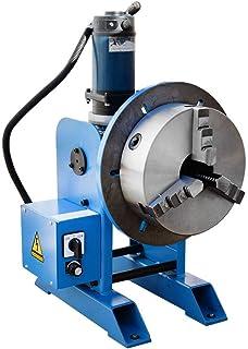 """10"""" Chuck + 220-480 LBS Welding Positioner Positioning Rotary Turn Table Tilt 0-135 Welder 110V"""