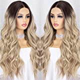 K'ryssma Ombre Blonde Lace Front Wig with...