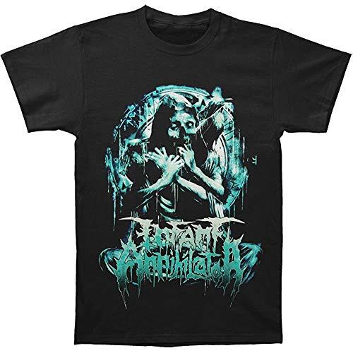 Infant Annihilator Men's Pinwheel T-Shirt Black