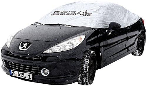 PEARL Autogarage: Auto-Halbgarage für Kompaktklasse, 290 x 140 x 45 cm (Wetterfeste Pkw Halbgaragen)