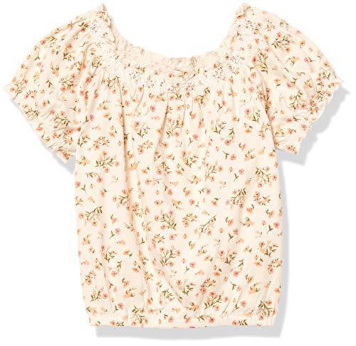 Billabong Mädchen Sweet Song Hemd, weiße Kappe, Klein