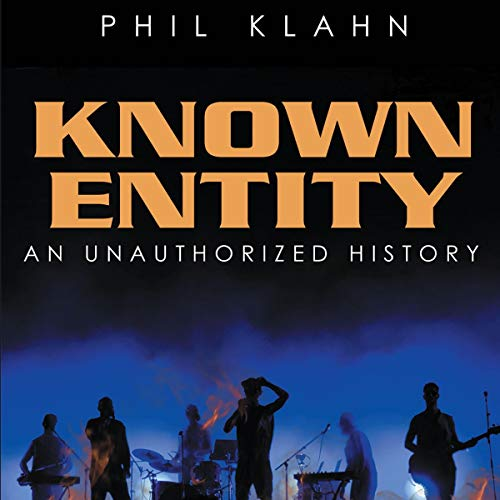 Known Entity Audiobook By Phil Klahn cover art