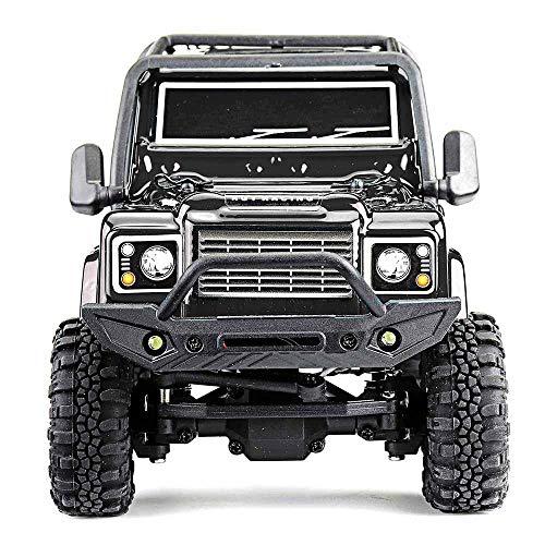 AKDSteel RGT 136240 RC Car V2 1/24 2.4 G 4 WD 15 km/h Control de Radio RC Rock Crawler Off-Road Modelos de vehículos Juguetes Regalos para Juguetes Regalos